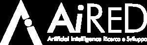 AiReD logo negativo